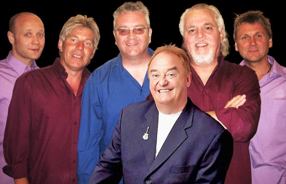 Gerry Marsden and his band